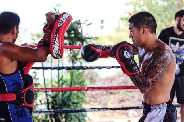 Evan training in Thailand