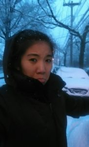 February 2016. The last snow storm I experienced right before moving to Thailand.