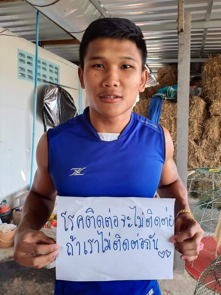 Kulabdam Sor.Jor.Piek-U-Thai. Former Thailand and Lumpinee Stadium champion.