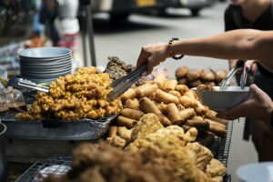 fried street food thailand bangkok