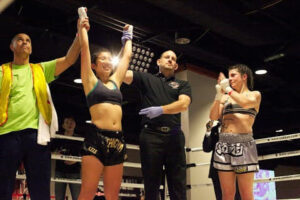 muay thai win