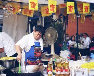 jay vegetarian vegan yaowarat bangkok chinatown chinese thailand noodles