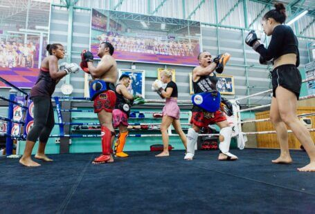 gym women men padwork thailand