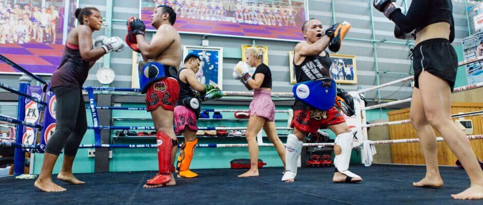 gym women men padwork thailand