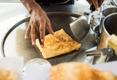 roti thai muslim flatbread thailand halal