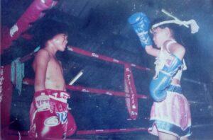 girl thailand vs boy muay thai kickboxing thailand yodcherry sityodtong